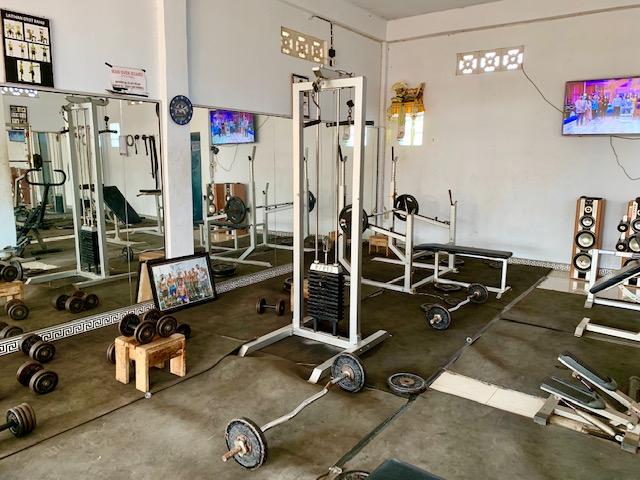 bali, local, gym